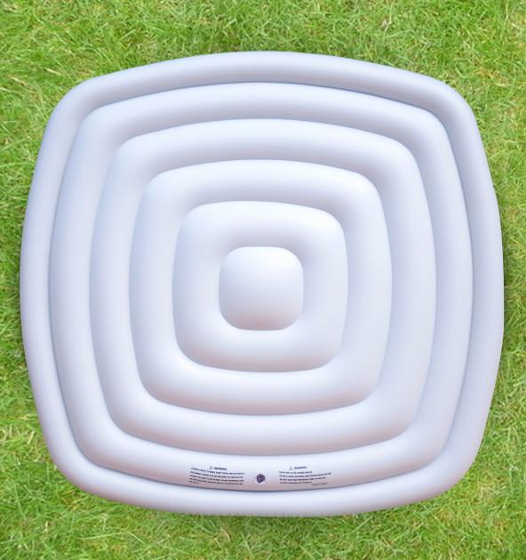 Uppblåsbart isoleringslock 6p fyrkantig(1200L)