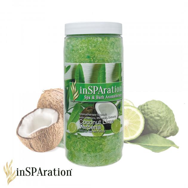 inSPAration Doftkristaller Coconut Lime