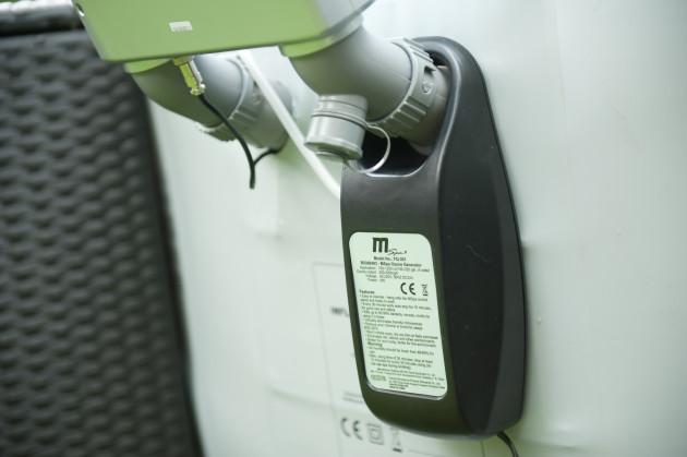 M-spa Extern Ozonrengörare