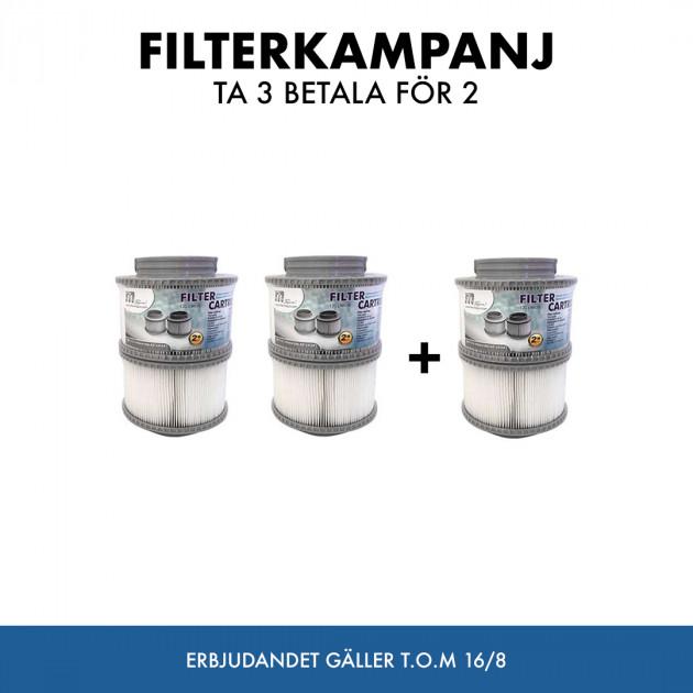 Filterkampanj 3 för 2