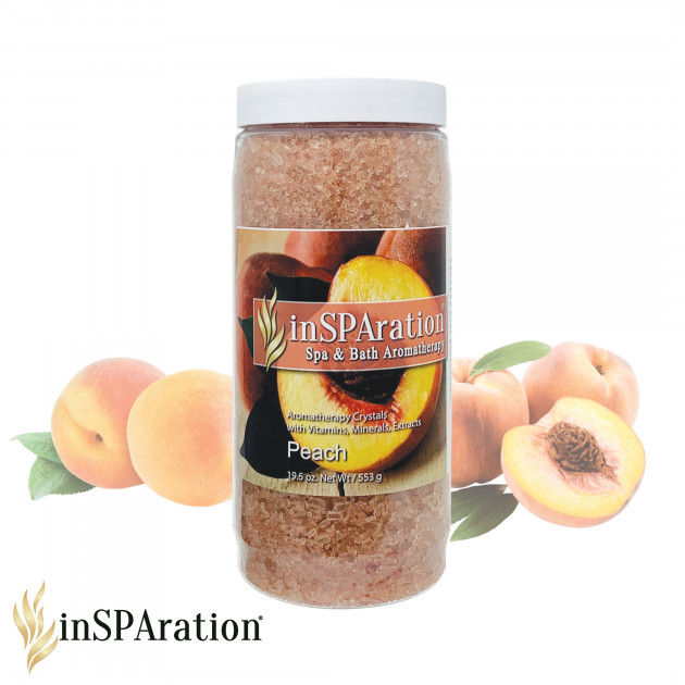 inSPAration Doftkristaller Peach