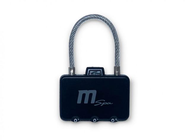 M-Spa Kombinationslås för täcklock
