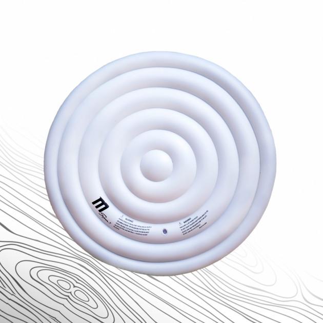 Uppblåsbart isoleringslock 4p rund (800L)